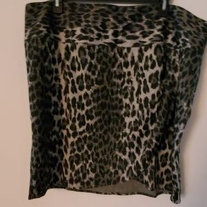 Lane Bryant Animal Print Skirt - 26